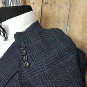 Jos. A. Bank Suits & Blazers - Jos A Bank Sport Coat Mens 46S Silk Blend Blue